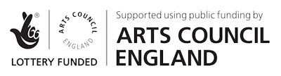Arts council funding logo