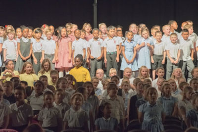 Primary Schools on stage