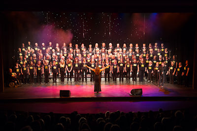 Picture of ROck CHoir members