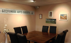 Stevenage Arts Society banner