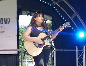 Sophie Kitchener on the Acoustic Stage